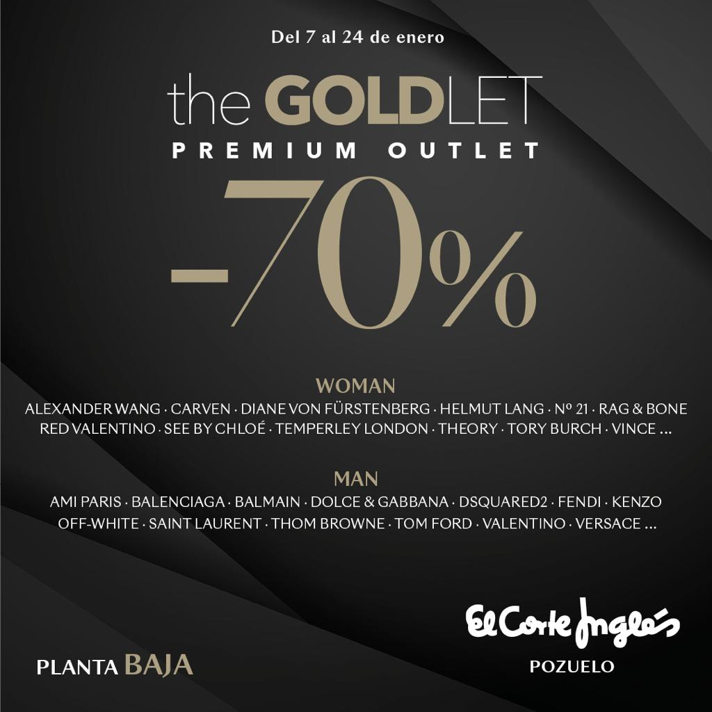 the GOLDLET PREMIUM OUTLET